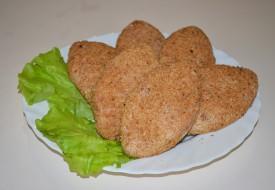 Котлеты рыбные из филе семги