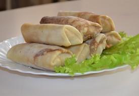 Блинчики фаршированные с мясом и капустой