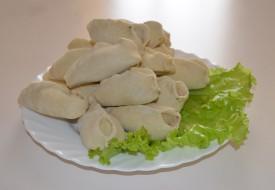 Манты «Узбекские» с  рубленной бараниной  (ручная лепка)